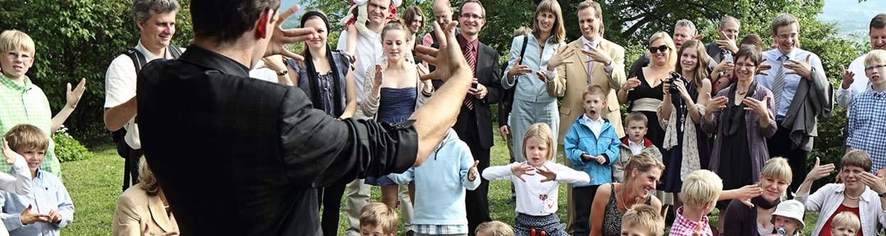 Zauberei mit Kindern