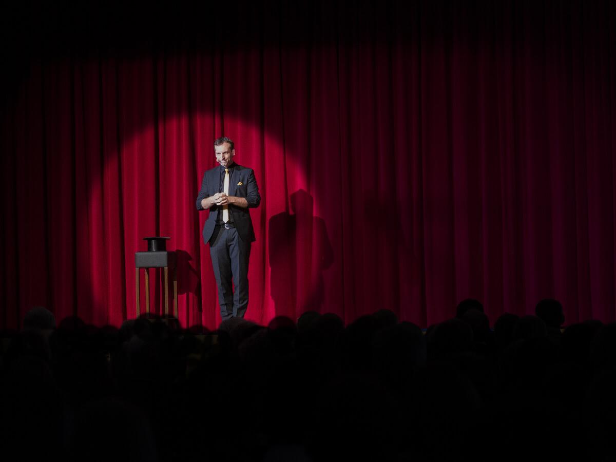 Zauberer Harald Hentschel Stand Up